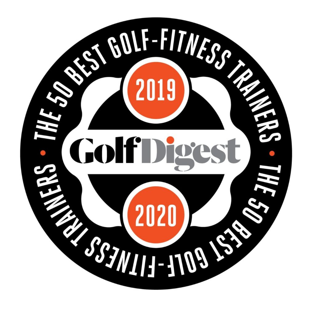 Golf Digest 2019-2020 Top 50 Best Golf Fitness Trainers